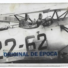 Postales: (PS-66157)POSTAL FOTOGRAFICA PILOTOS AVIACION SEVILLA-EPOCA REPUBLICA. Lote 277166718