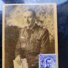 Postales: POSTAL GENERAL KINDELAN. III AÑO TRIUNFAL. GUERRA CIVIL. Lote 278492963