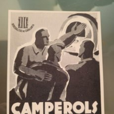 Postales: CAMPEROLS.TARJETA POSTAL REPUBLICANA GUERRA CIVIL. Lote 281055498