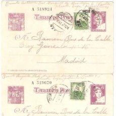 Postales: SEIS (6) POSTALES ESCRITAS EN 1937 DESDE LA CÁRCEL DE MUJERES DE VENTAS EN MADRID (PREVENTIVAS). Lote 284654458