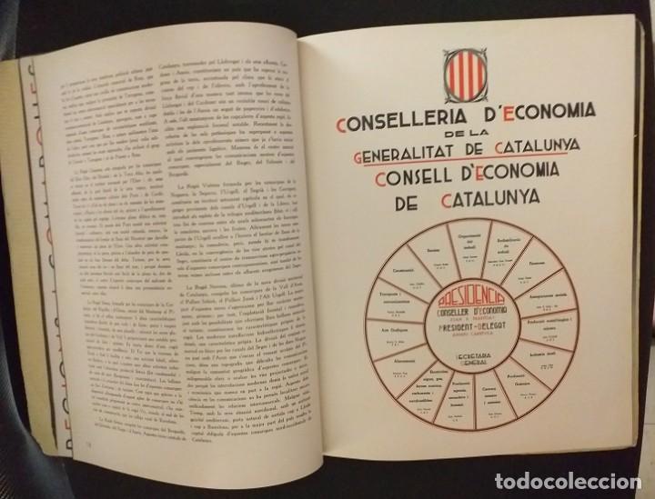 Postales: CXGuerra Civil Generalitat de Catlunya Butlleti Trimestral de la CONSELLERIA DE ECONOMIA Octubre1936 - Foto 2 - 285680928