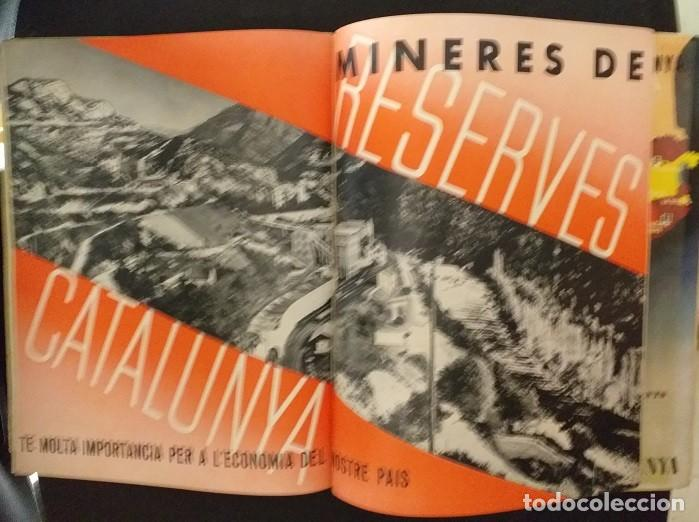 Postales: CXGuerra Civil Generalitat de Catlunya Butlleti Trimestral de la CONSELLERIA DE ECONOMIA Octubre1936 - Foto 3 - 285680928
