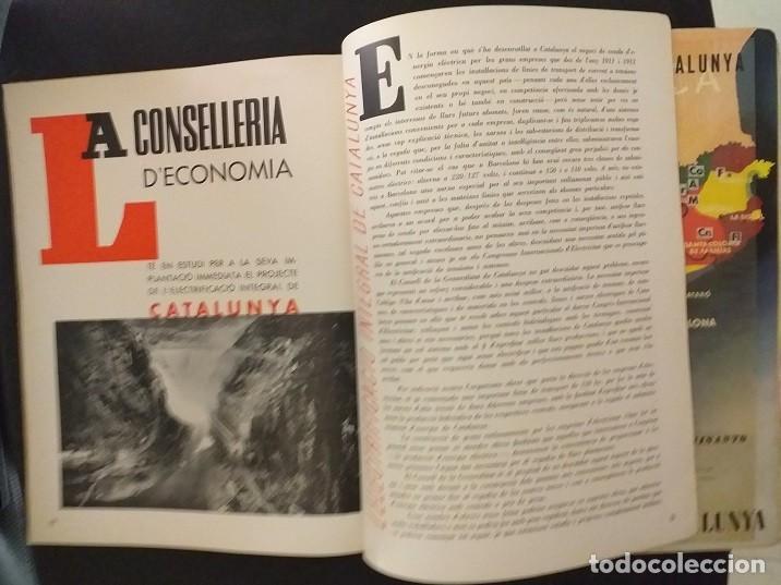 Postales: CXGuerra Civil Generalitat de Catlunya Butlleti Trimestral de la CONSELLERIA DE ECONOMIA Octubre1936 - Foto 4 - 285680928