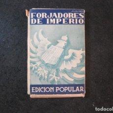 Postales: FORJADORES DEL IMPERIO-EDICION POPULAR-BLOC DE 30 POSTALES ANTIGUAS-GUERRA CIVIL-VER FOTOS-(83.909). Lote 286890408