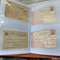 Postales: CARTAS Y POSTALES DE LA GUERRA CIVIL ESPAÑOLA . VER FOTOS Y DESCRIPCIÓN.. Lote 287020593