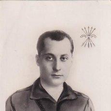 Postales: POSTAL PATRIÓTICA JOSÉ ANTONIO PRIMO DE RIVERA JEJE NACIONAL DE FALANGE ESPAÑOLA. SIN CIRCULAR.. Lote 287681303