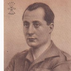 Postales: POSTAL PATRIÓTICA JOSÉ ANTONIO PRIMO DE RIVERA FOTO ÁNGEL CORTÉS. GRAFOS. SIN CIRCULAR.. Lote 287681733