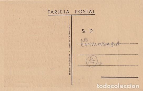 Postales: Tumba de José Antonio. Monasterio del Escorial. No catalogada. Sin circular. - Foto 2 - 287683528