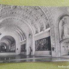 Postales: MONUMENTO NACIONAL DEL VALLE DE LOS CAIDOS. CRIPTA - BASILICA. VISTA - MADRID. Lote 288046058
