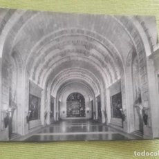 Postales: MONUMENTO NACIONAL DEL VALLE DE LOS CAIDOS. CRIPTA - BASILICA. NAVE CENTRAL - MADRID. Lote 288046188