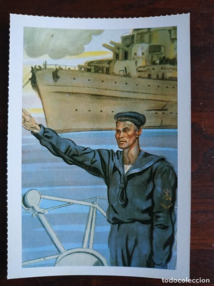 Postales: Una postal imagen sobre la falange española y guerra contra marruecos 4 tarjetas a elegir - Foto 4 - 289866563