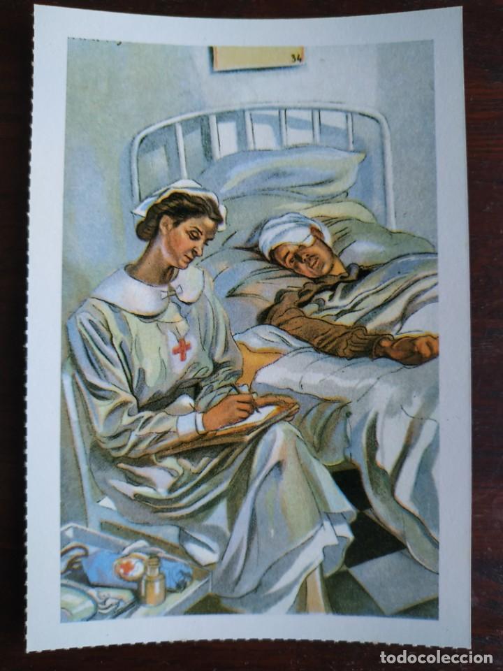 Postales: Una postal imagen falange española y guerra con marruecos pintura a carboncillo 4 tarjetas a elegir - Foto 5 - 289866738