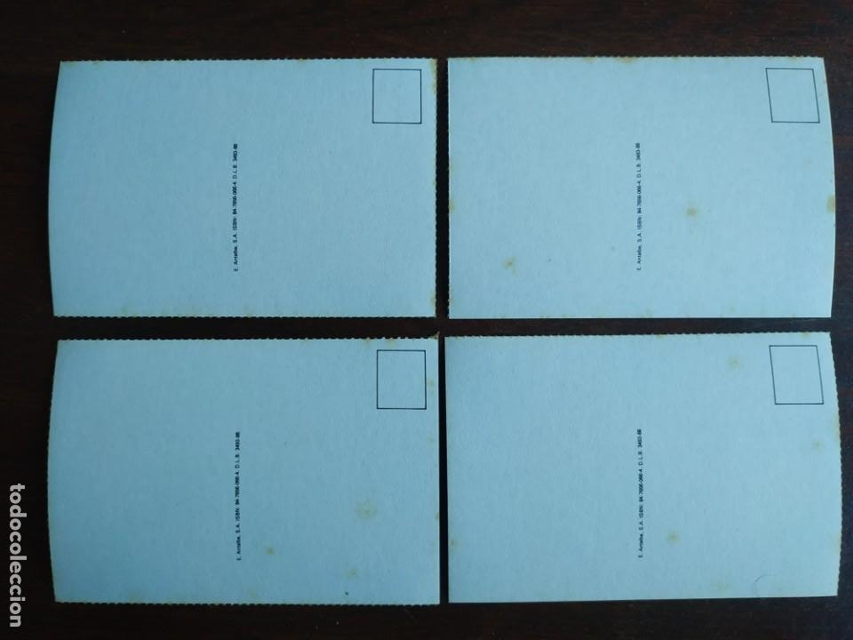 Postales: Una postal imagen falange española y guerra con marruecos pintura a carboncillo 4 tarjetas a elegir - Foto 6 - 289866738