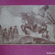 Cartoline: POSTAL GUERRA CIVIL ESPAÑOLA PASANDO REVISTA A LA COLUMNA INTERNACIONAL. Lote 290849133