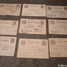Cartoline: LOTE POSTALES PRISIONERO CARCEL CASTELLON POS GUERRA CIVIL REPUBLICANO. Lote 294094308