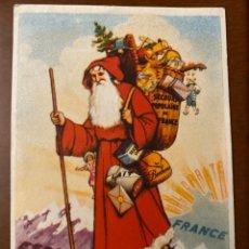 Cartoline: TARJETA POSTAL REPUBLICANA FRANCIA AYUDA NAVIDAD NIÑOS REPUBLICANOS VÍCTIMAS FASCISMO. Lote 295522078