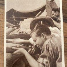 "Cartoline: TARJETA POSTAL BÉLGICA "" AYUDA NIÑOS ESPAÑOLES"" DEFENSA DE MADRID"". Lote 295781773"