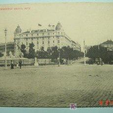 Postales: 8823 MADRID HOTEL RITZ - MAS POSTALES DE ESTE TIPO EN MI TIENDA COSAS&CURIOSAS. Lote 15610531