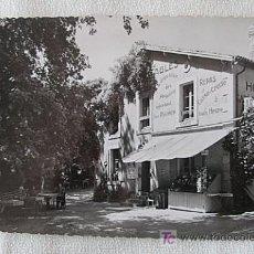 Postales: HOTEL RESTAURANTE DE PIERRE BRUNE MERVENT FRANCIA. Lote 5385324