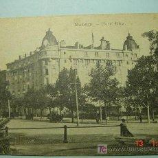 Postales: 787 MADRID HOTEL RITZ - MAS POSTALES DE ESTA CIUDAD EN MI TIENDA COSAS&CURIOSAS. Lote 12426243