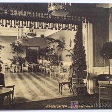 Postales: PARK-HOTEL BRAUNSCHWEIG DIR. KARL KALMS - SIN CIRCULAR. Lote 16478170