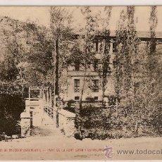 Postales: TARJETA POSTAL UNION POSTAL UNIVERSAL Nº 4 VALLFOGONA DE RIUCORP BALNEARI PONT DE LA FONT GRAN Y EST. Lote 17932440