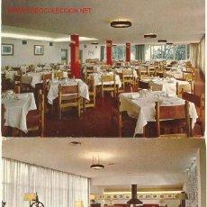 Postales: PARADOR NACIONAL AIGUABLAVA BAGUR - BEGUR (GIRONA) / IMPRESAS EN 1966. Lote 21841076