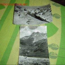 Postales: DOS POSTALES DEL BALNEARIO DE PANTICOSA. Lote 4029925