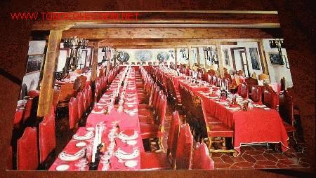 POSTAL RESTAURANTE JOSE LUIS - ILLESCAS - CARRETERA DE TOLEDO - SALON DE CONVENCIONES EL GRECO - SIN (Postales - Postales Temáticas - Hoteles y Balnearios)