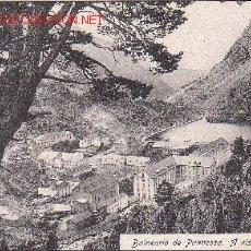 Postales: TARJETA POSTA DEL BALNEARIO DE PANTICOSA. HUESCA. A VISTA DE PAJARO.. Lote 14069647