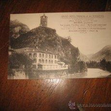 Postales: GRAND HOTEL FRANCAL ET DES VOYAGEURS. Lote 9897622