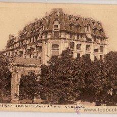 Postales: CARTE POSTALE HOTEL ASTORIA AIX LE BAINS PLAÇE DE L'ETABLISSEMENT THERMAL. Lote 23767266