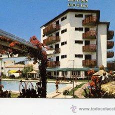 Postales: HOTEL SOMIO - FUENGIROLA - AÑO 1966. Lote 10621158