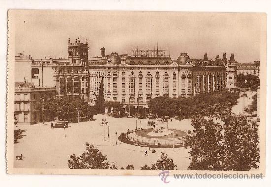 ANTIGUA POSTAL 28 MADRID PALACE HOTEL FOTOTIPIA HAUSER Y MENET (Postales - Postales Temáticas - Hoteles y Balnearios)