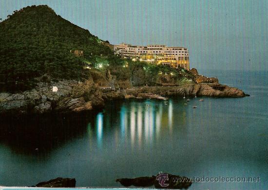 POSTAL A COLOR COSTA BRAVA HOTEL CAP SA SAL SERIE II Nº 2121 FOTO CAMPAÑA (Postales - Postales Temáticas - Hoteles y Balnearios)