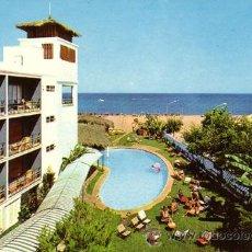 Postales: Nº 1596 POSTAL TORREMOLINOS MALAGA HOTEL TROPICANA. Lote 11841608