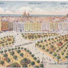 Postales: 4014 - ANTIGUA POSTAL - HOTEL BRISTON- BARCELONA (CIRCULADA) VER REVERSO. Lote 23766991