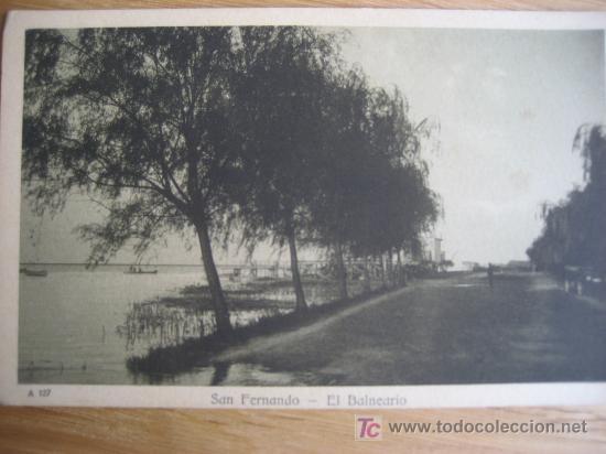 SAN FERNANDO. EL BALNEARIO. ARGENTINA. 1921 (Postales - Postales Temáticas - Hoteles y Balnearios)