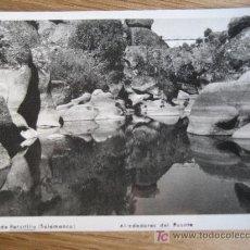 Postales: BAÑOS DE RETORTILLO. SALAMANCA. Nª 3 ALREDEDORES DEL PUENTE. FOTO FRUTOS. SIN CIRCULAR. Lote 27614102
