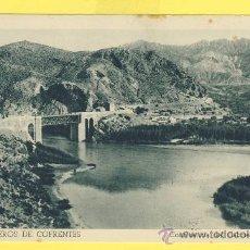 Postales: VALENCIA-HERVIDEROS DE COFRENTES-COFLUENCIA CABRIEL Y JUCAR- HUECO.FOURNIER-VITORIA -1957-P 850. Lote 20741310
