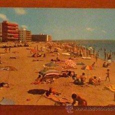 Postales: SALOU (TARRAGONA) PLAYA DE LA PINEDA. Lote 16644255