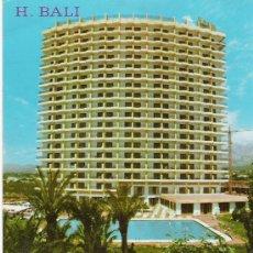 Postales: HOTEL BALI - BENIDORM - . Lote 17206318