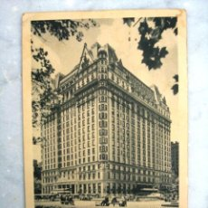 Postales: POSTAL HOTEL PLAZA NEW YORK 1948. Lote 27096690