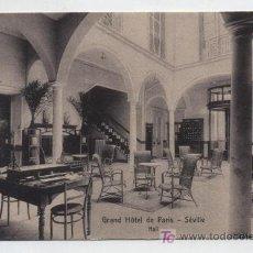 Postales: SEVILLE.-GRAN HOTEL DE PARIS.. Lote 19038080