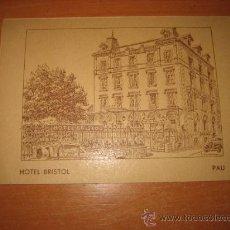 Postales: HOTEL BRISTOL PAU . Lote 22341324