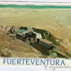 Postales: FUERTEVENTURA HOTEL LOS GORRIONES JANDÍA CIRCULADA ESCRITA CON SELLO. Lote 24596836