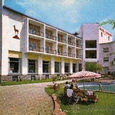 Postales: CATALUÑA PARK HOTEL RIBAS DE FRESER GERONA CIRCULADA CON SELLO Y ESCRITA. Lote 26149611