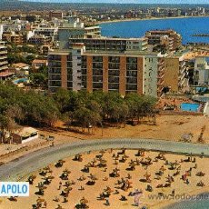 Postales: PALMA DE MALLORCA CA'N PASTILLA HOTEL APOLO SIN CIRCULAR EDICIONES CYP. Lote 25655412