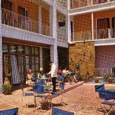 Postales: HOTEL TOY MALGRAT DE MAR BARCELONA TERRAZA DEL HOTEL SIN CIRCULAR. Lote 25656056