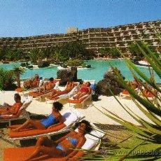 Postales: LAS SALINAS SHERATON HOTEL COSTA TEGUISE LANZAROTE ISLAS CANARIAS ESPAÑA SIN CIRCULAR. Lote 25656262